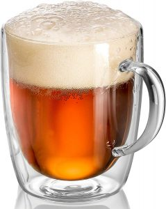 2  Large 32 Ounce Beer Mugs Your Choice of 12 Colors Made in America Lead Free*